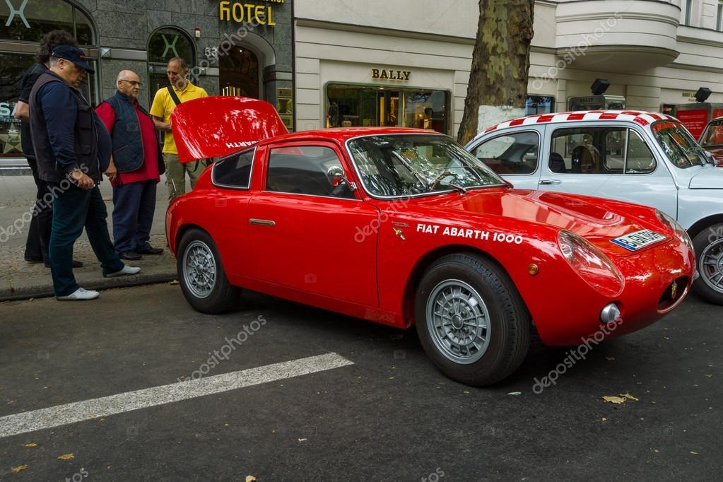 Sports Car Fiat Abarth 1000 Bialbero Zagato 1961 The Classic Days