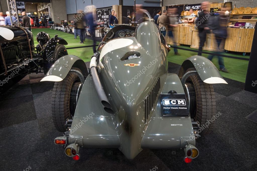 Vintage car Bentley 3/8 racer (built on the chassis Bentley