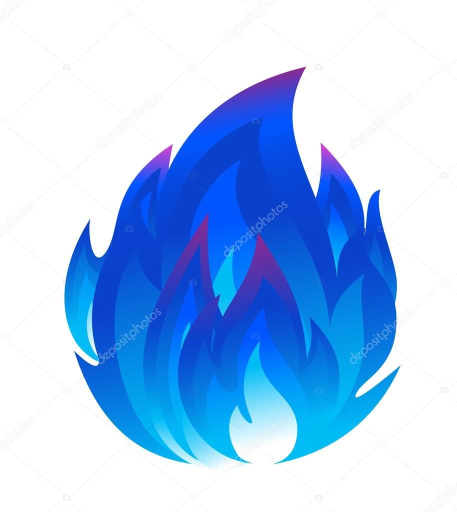 Descreva Artesanato Manufatura E Maquinofatura ~ fogo azul u2014 Vetores de Stock u00a9 tatus #55230015
