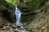 vodopád Mosornym Potoku vidět v Polsku