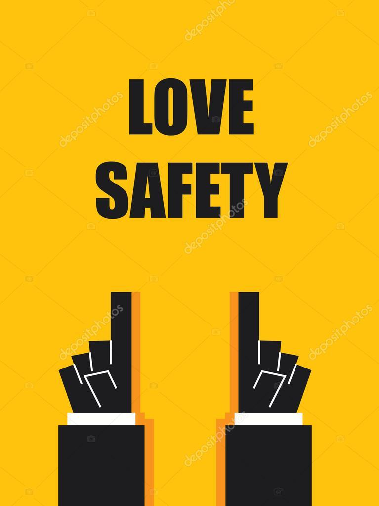 Símbolos y señales de seguridad de amor — Archivo Imágenes Vectoriales 0e75dc0a4634e