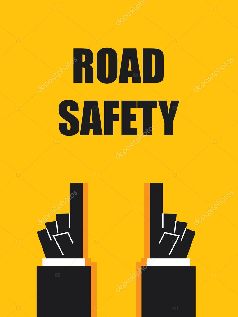 Road Safety Signs And Symbols Stock Vector Kjnnt 106652154