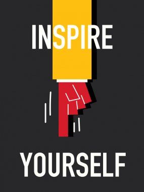 Word INSPIRE YOURSELF