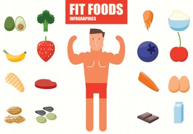 Fit Foods infographics