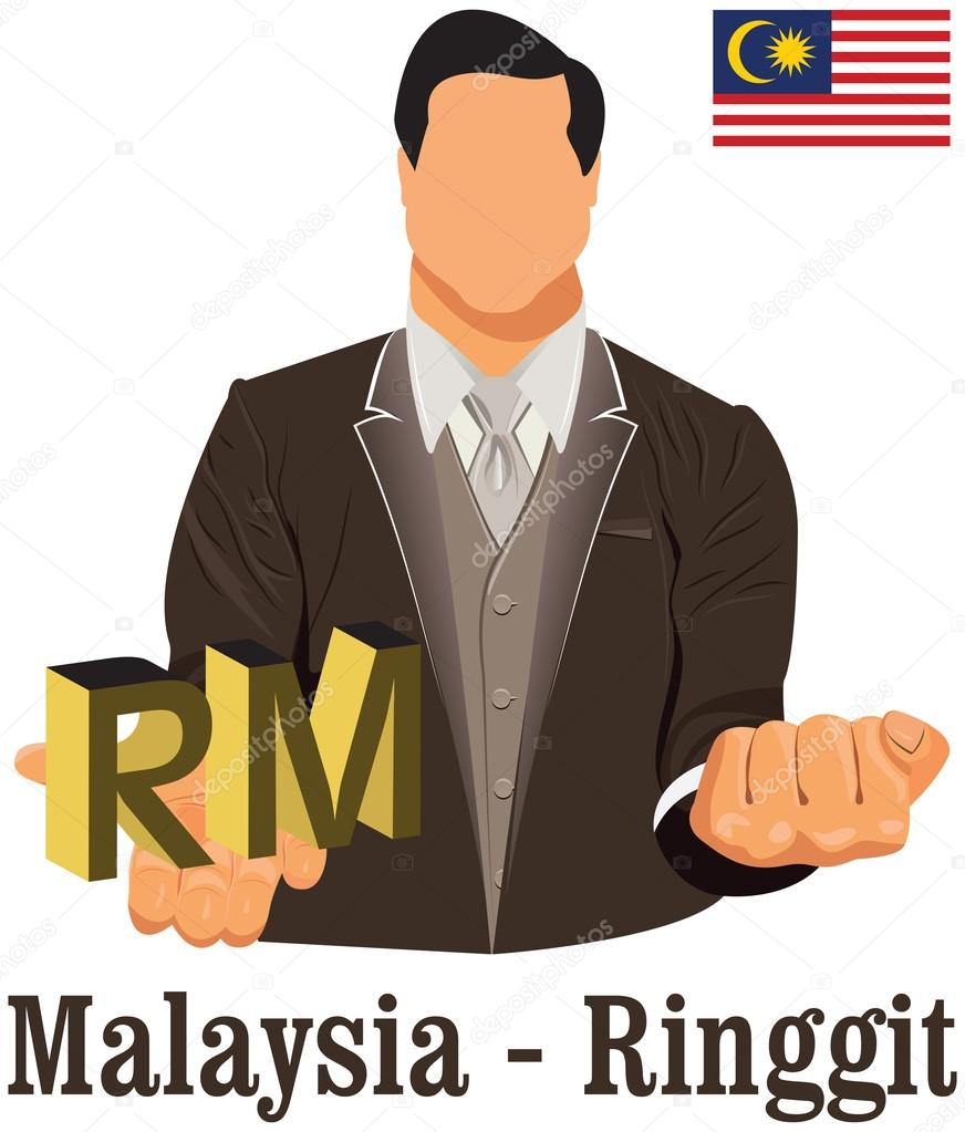 Malaysia national currency ringgit symbol representing money and malaysia national currency ringgit symbol representing money and stock vector buycottarizona Image collections