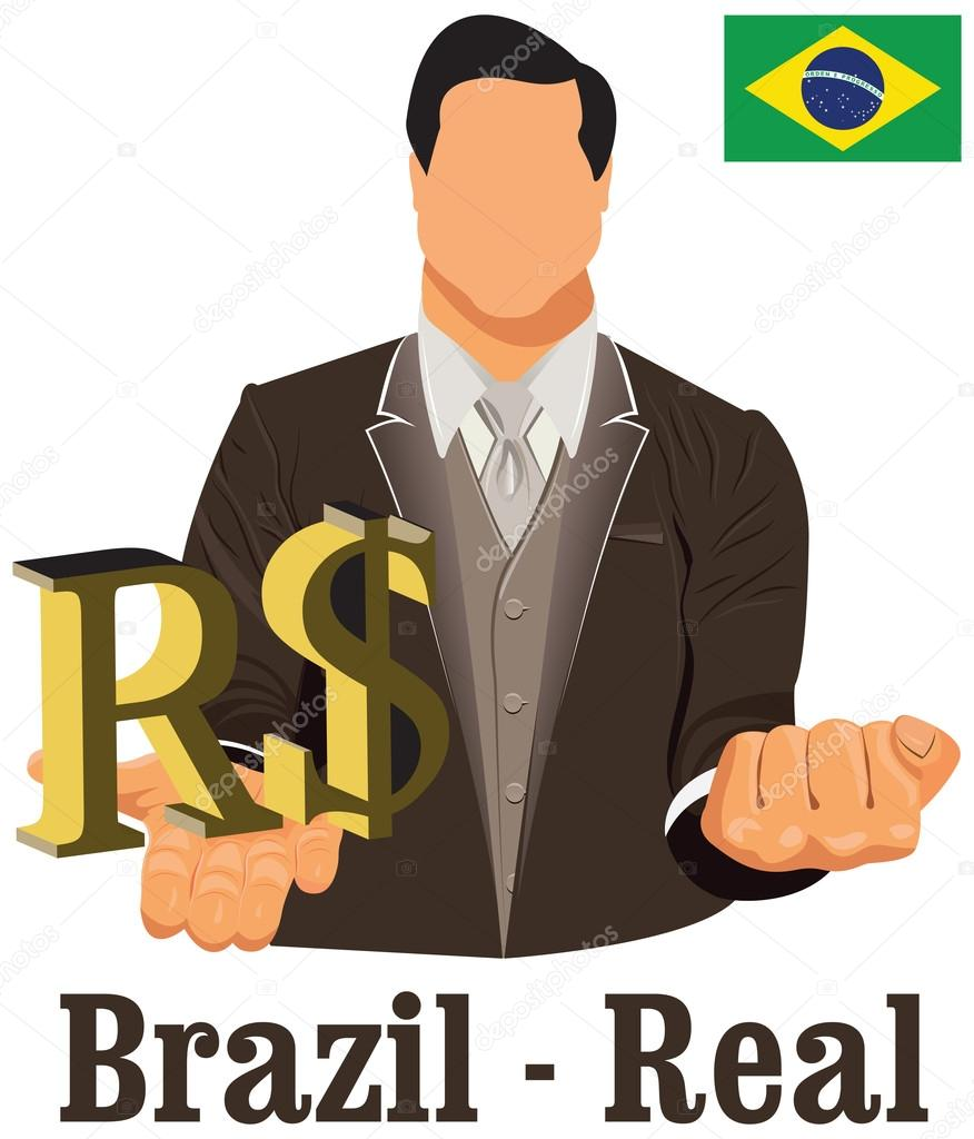 Brazil national currency brazilian real symbol representing mone brazil national currency brazilian real symbol representing mone stock vector biocorpaavc Image collections