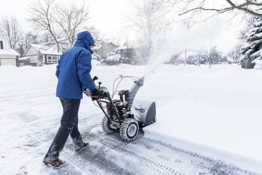 Man With a Snow Blower