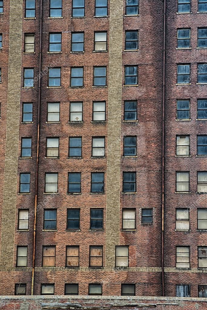 Tall Brick Building In Atlanta U2014 Stock Photo