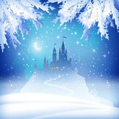 Christmas Winter Castle