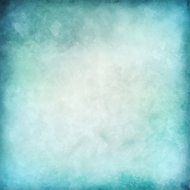 Abstract blue vector watercolor background