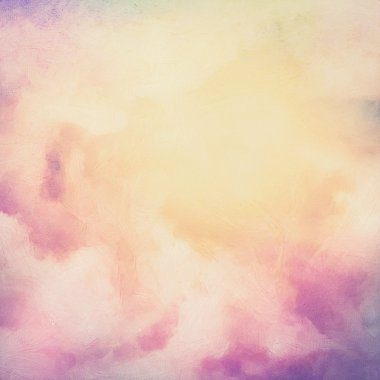 Sunrise Sky Painting Background
