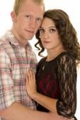 Fotografie junge liebende Paar