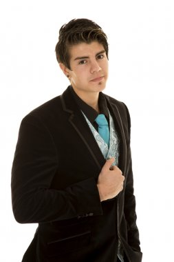 Young man in business clothing