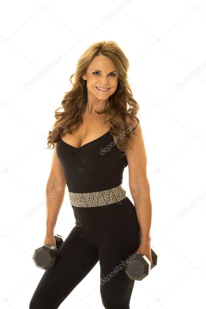 fitness mature woman — Stock Photo © magann #38797803