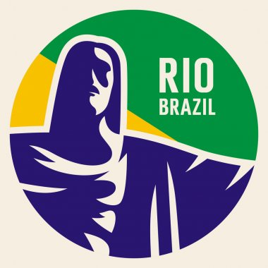 Travel sticker Brazil
