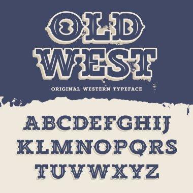Old West Font