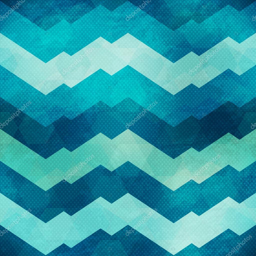 marine zigzag seamless pattern