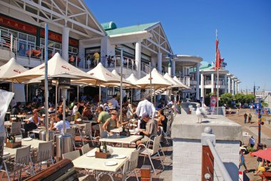 Victoria and Albert Waterfront, Cape Town, South Africa.