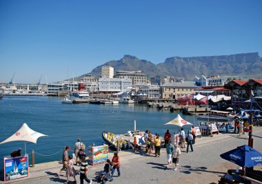 Victoria and Alfred Waterfront, Cape Town, South Africa.