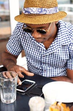 Cool african american man
