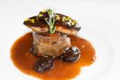 Steak s foie gras