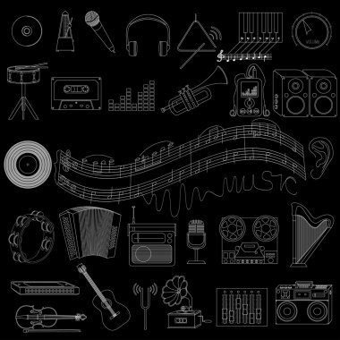 icons on a musical