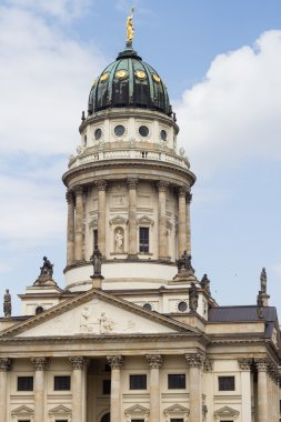 beautiful French Cathedral at Gendarmenmarkt in Berlin
