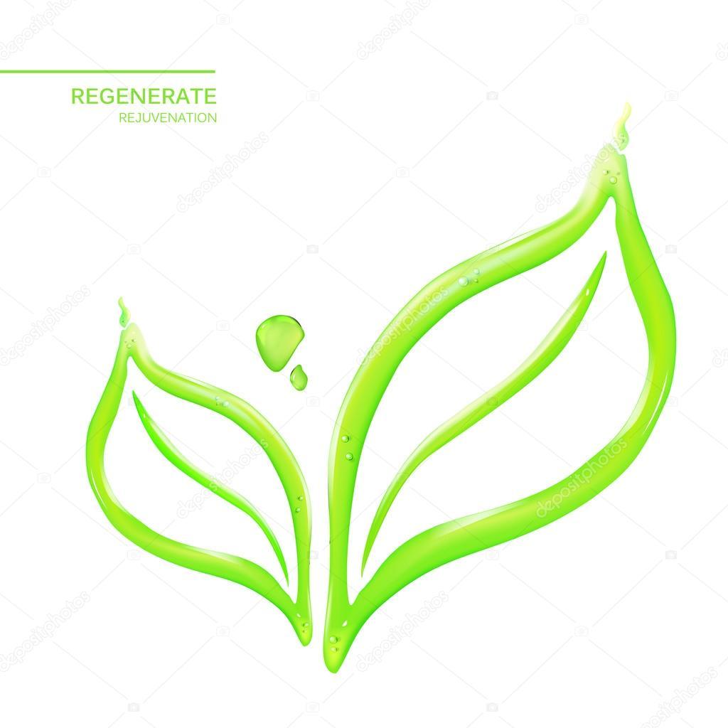 abstract flower leaf ストックベクター kotkoa 117278508