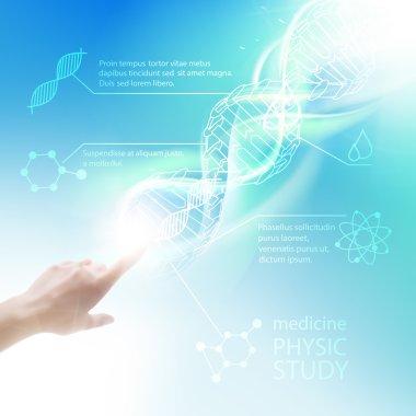 Biochemistry infographics.