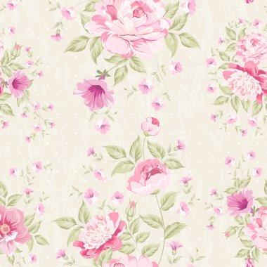 Floral seamless pattern. Vector illustration. clip art vector