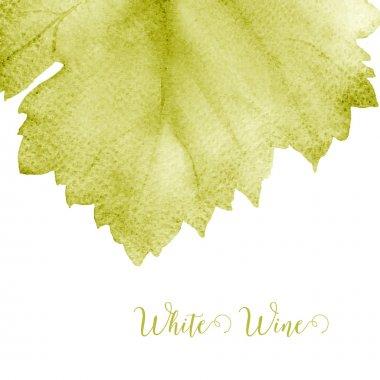 Wine list.