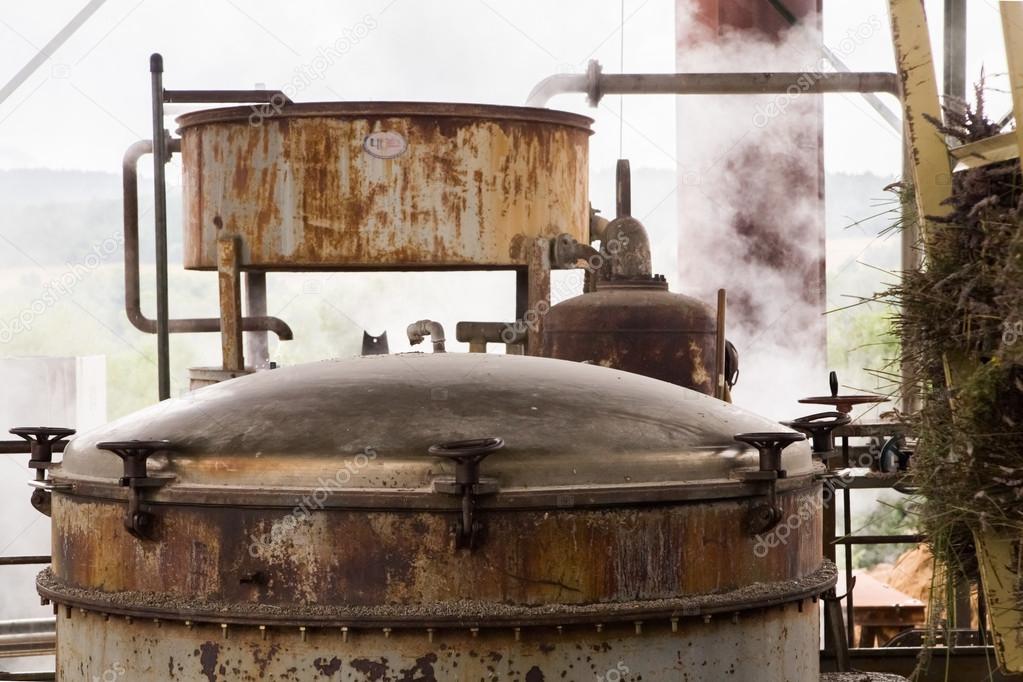 The herbal essences distillery.