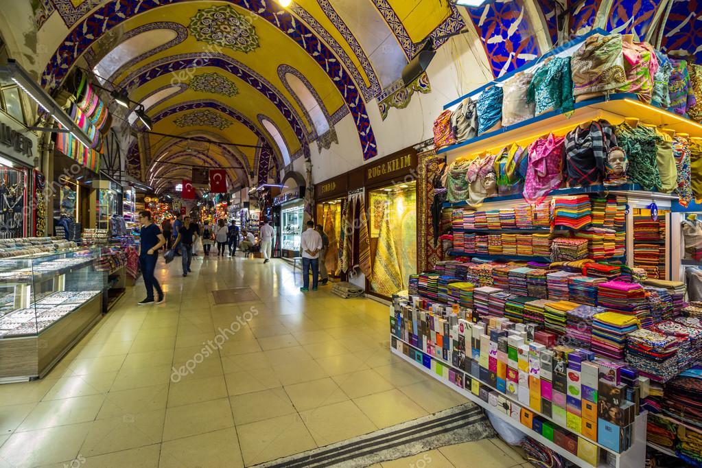 935f427732 Δρόμο από το μεγάλο παζάρι στην Κωνσταντινούπολη– Εκδοτικές Φωτογραφίες  Αρχείου
