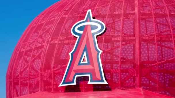 Iconic Oversized Baseball Cap at Angel Stadium of Anaheim Entrance