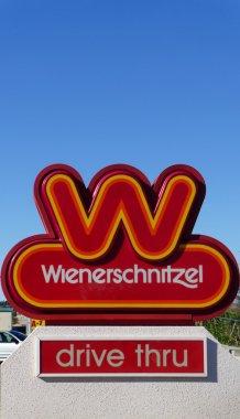 Wienerschnitzel Fast Foot Restaurant Sign