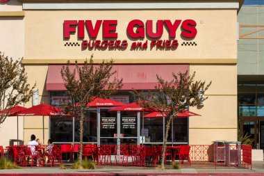 Five Guys Restaurant Exterior