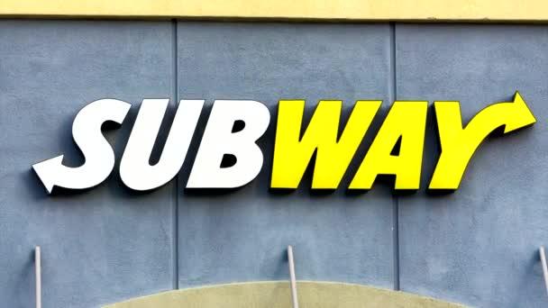 Subway étterem külső