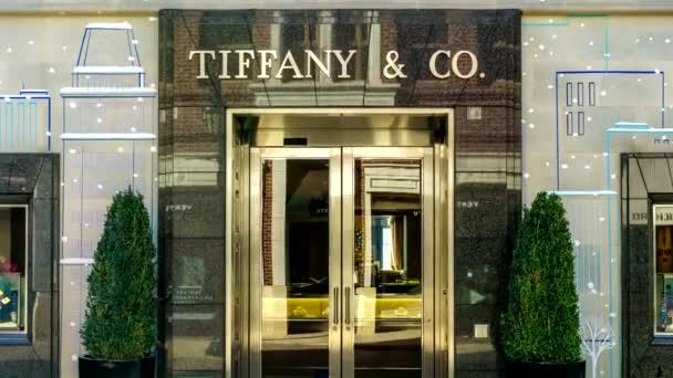 Tiffany  společnost Retail Store exteriér