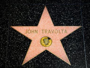 John Travolta Star on the Hollywood Walk of Fame