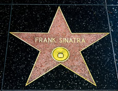 Frank Sinatra Star on the Hollywood Walk of Fame