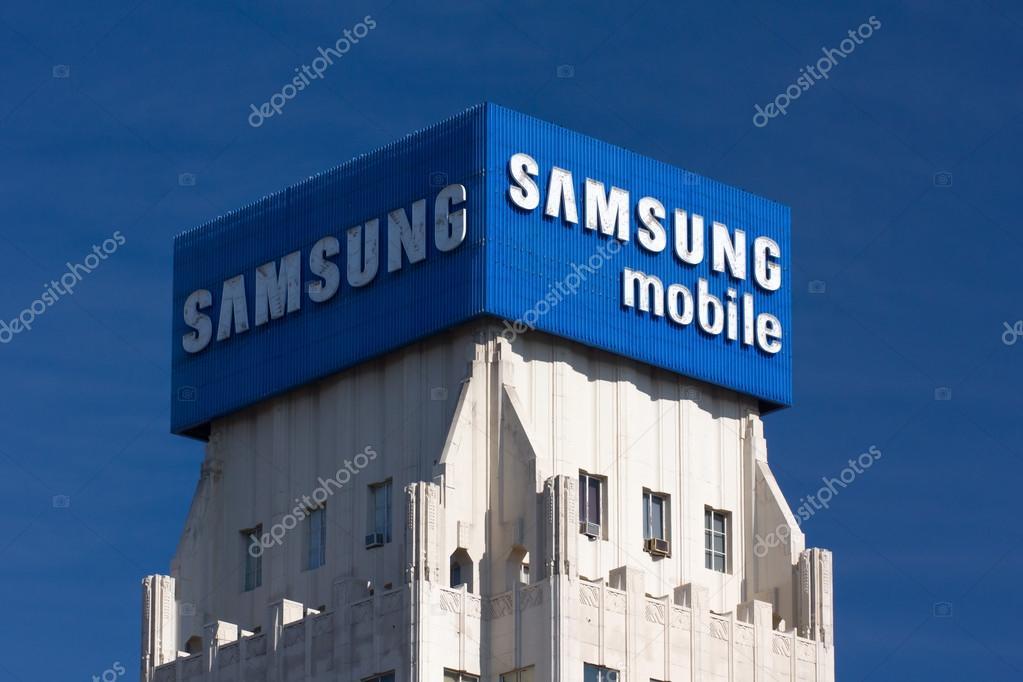 Samsung Mobile Advertisement and Logo