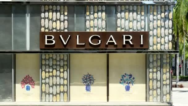Negozio di vendita al dettaglio di Bulgari esterno