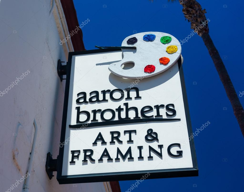 Aaron Brothers Art and Framing Store and Sign – Stock Editorial ...