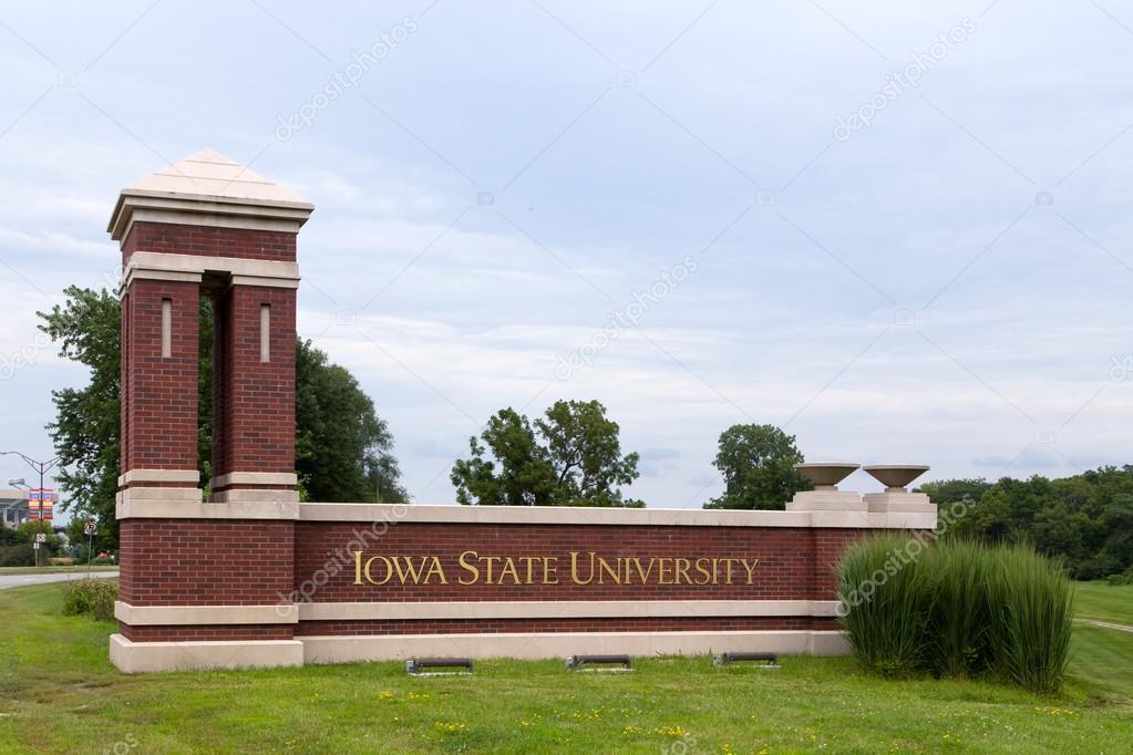 アイオワ州立大学への入り口 - ...