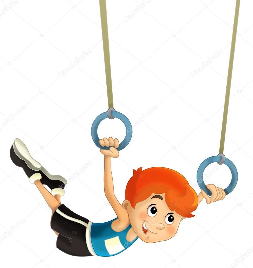 Картинки спортивная гимнастика для детей