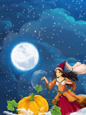 Cartoon scene for different fairy