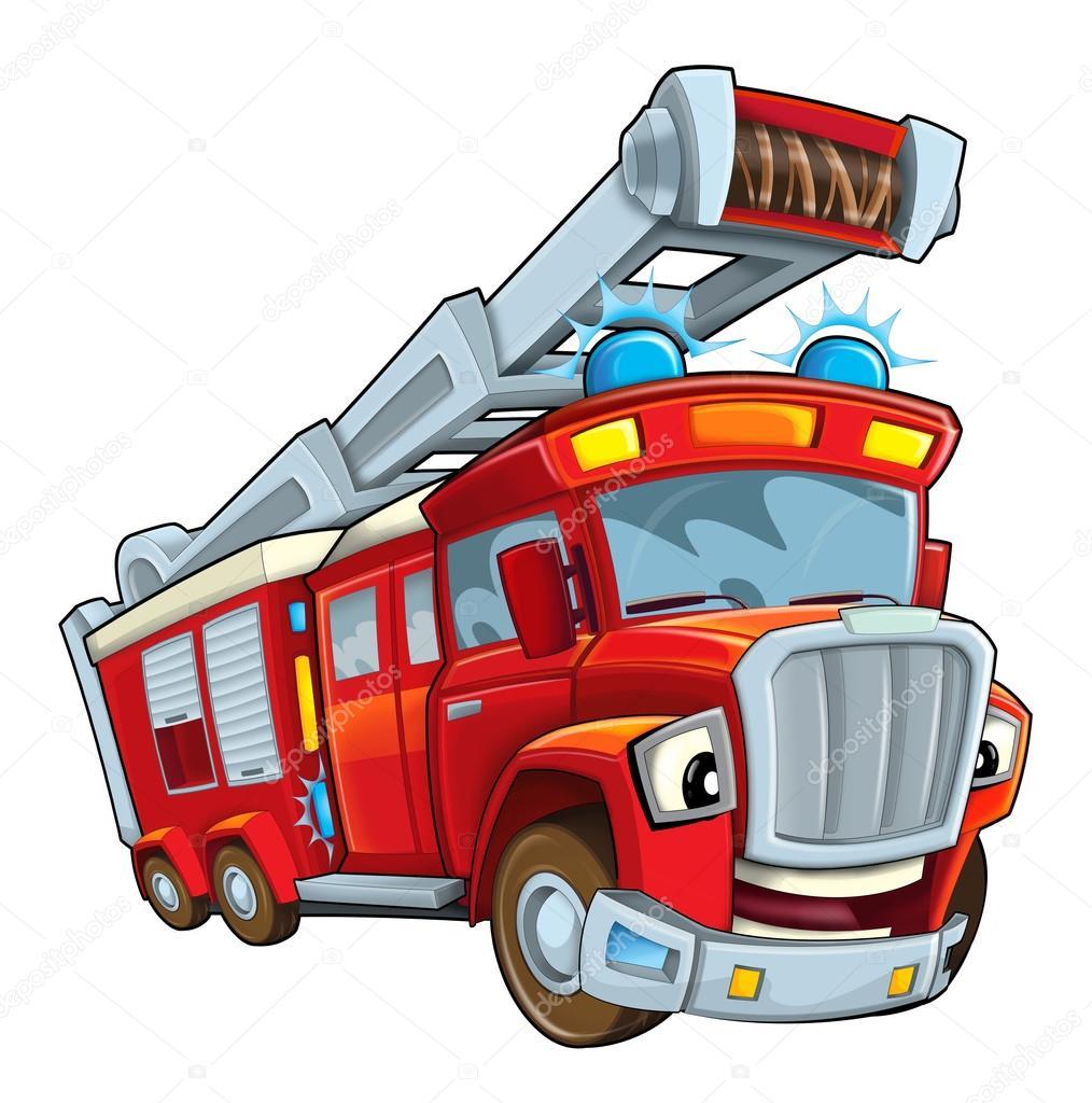 Для, открытки с пожарными автомобилями