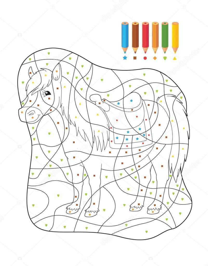 Marcos De Animales Para Colorear Pagina De Dibujos Animados