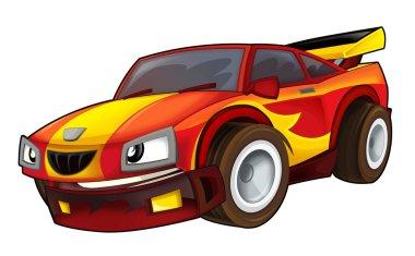 Colored car