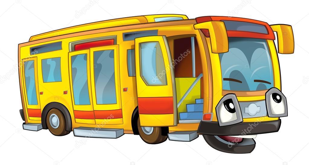 Kresleny Autobus Stock Fotografie C Illustrator Hft 53736585
